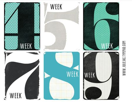 Week4-9 journaling cards