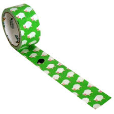 Sheep duck tape