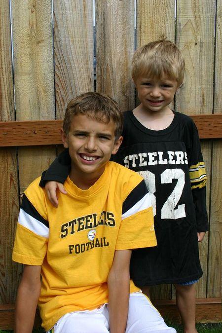 July 13 06 boys Steelers pics 005